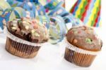 Thumbnail Muffins with carnival decoration