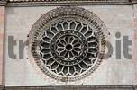 Thumbnail Church window, Todi, Umbria, Italy