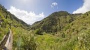 Thumbnail View of the Lombo das Tercas Valley from the Levada Moinho, Madeira, Portugal