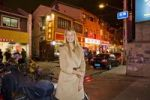 Thumbnail Young woman in a nightlife district, Shanghai, China, Asia