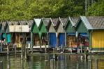 Thumbnail Boat sheds, Starnberg Lake, Bavaria, Germany