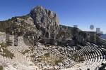 Thumbnail Termessos National Park near Antalya Turkey ancient city Termessos excavations in tne theatre