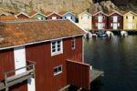 Thumbnail Coloured wooden houses, Bohuslaaen, Sweden