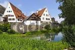 Thumbnail Lauingen Bavarian Swabia Germany house near the riverbank of Danube