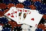 Thumbnail Playing cards, royal straight flush, poker chips