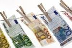 Thumbnail Euro banknotes hanging from a clothesline