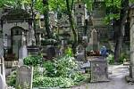 Thumbnail Old churchyard Pere Lachaise, Paris, France