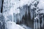 Thumbnail Icicles in the Partnachklamm gorge near Garmisch-Partenkirchen, Werdenfelser Land, Upper Bavaria, Bavaria, Germany