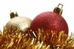 Thumbnail Christmas balls with Christmassy decoration