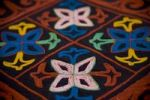 Thumbnail Colourful carpet from Kyrgyzstan
