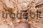 Thumbnail hiker in Konorchek Canyon, Kyrgyzstan