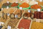 Thumbnail dried fruit at the market, Osch Bazar, Bishkek, Kyrgyzstan