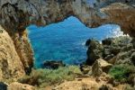 Thumbnail Rock arch near cape Gkreko, south east coast, Cyprus island, Greece