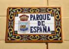 Thumbnail Sign in Spanish, Parque de España, Fuengirola, Spain, Europe