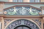 Thumbnail Details on Cranachhaus building, Weimar, Thuringia, Germany, Europe