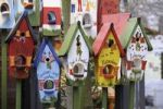 Thumbnail Painted birdhouses