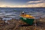 Thumbnail Fishing boat on the Reichenau island, Lake Constance, Radolfzell, Hegau, Baden-Wuerttemberg, Germany