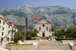 Thumbnail Kačić Square and Sveti Marco Church, Makarska, Dalmatia, Croatia, Europe