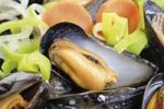 Thumbnail Blue Mussels (Mytilus) with vegetables