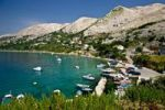 Thumbnail Stara Baska bay at the isle of Krk in Croatia