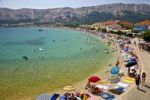 Thumbnail Beach life in the Baska bay at the isle of Krk in Croatia