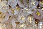 Thumbnail Engraved healing stones