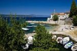 Thumbnail View of the bay of the town Silo on the island Krk in Croatia