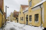 Thumbnail Snow-covered village Dragor, Denmark, Europe