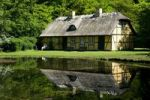 Thumbnail Old house at a forest lake, Denmark, Europe