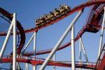 Thumbnail Modern roller coaster in Tivoli, Copenhagen, Denmark