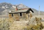 Thumbnail Miners hut, abandoned, Highway 6 east, Pancake Range, Nevada, USA