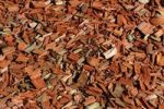 Thumbnail Wood chips, tinted red