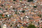 Thumbnail Overlooking the historic town centre from above, sea of houses, mountain village of Agiassos, Lesbos, Aegean Sea, Greece, Europe