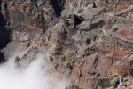Thumbnail Volcanic caldera rock face, Caldera de Taburiente National Park, La Palma, Canary Islands, Spain