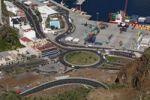 Thumbnail Road roundabout at the port of Santa Cruz de la Palma, La Palma, Canary Islands, Spain