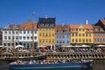 Thumbnail Tour boat in Nyhavn Canal, Copenhagen, Denmark, Europe