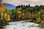 Thumbnail River in autumn, Vermont, USA