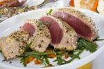 Thumbnail Thuna filet with sesame crust