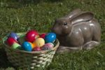 Thumbnail Easter basket with Easter Bunny