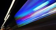 Thumbnail Blurred lights, traffic, light art, lights, lighting tracks, dynamic, colorful, Hamburg, Germany, Europe