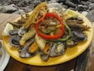 Thumbnail Seafood dish, La Palma, Canary Islands, Spain