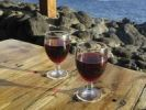 Thumbnail Two glasses of red wine, La Palma, Canary Islands, Spain