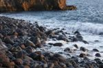 Thumbnail Round stones on the beach in Bombilla, La Palma, Canary Islands, Spain