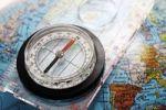 Thumbnail Compass on globe