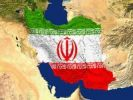 Thumbnail Satellite image of Iran with the region's flag covering it