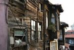 Thumbnail Run-down wooden house, Istanbul, Turkey, Europe, Asia