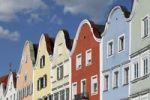 Thumbnail Silberzeile row of houses, Schaerding, Innviertel, Upper Austria, Austria, Europe