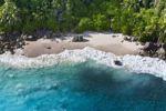 Thumbnail The coast at Grand Anse beach, Island of Mahe, Seychelles, Indian Ocean, Africa