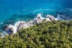 Thumbnail The coast Anse Liberte with the typical granite rocks of the Seychelles, Mahe Island, Seychelles, Indian Ocean, Africa