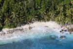 Thumbnail The beach Anse Cachee at Pointe Golette, Island of Mahe, Seychelles, Indian Ocean, Africa